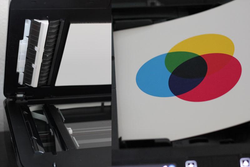Drucker mit Dokumenteneinzug