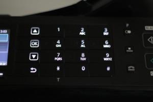 Fax-Funktion eines Multifunktionsdruckers