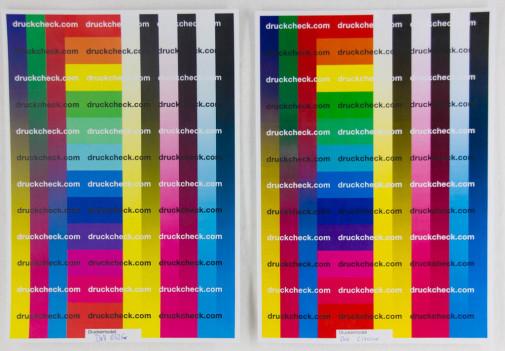 Vergleich Farbtest C1760 vs E525w.