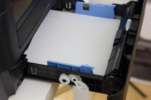 Große 250 Blatt Papierkassette am Dell E514dw