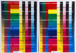 Testausdruck einer Farbkopie beim Dell H625cdw